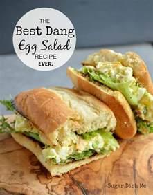 best dang egg salad recipe ever sugar dish me