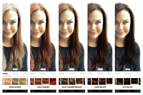 how to see yourself with different hair color how to see different hair colors on yourself how to see