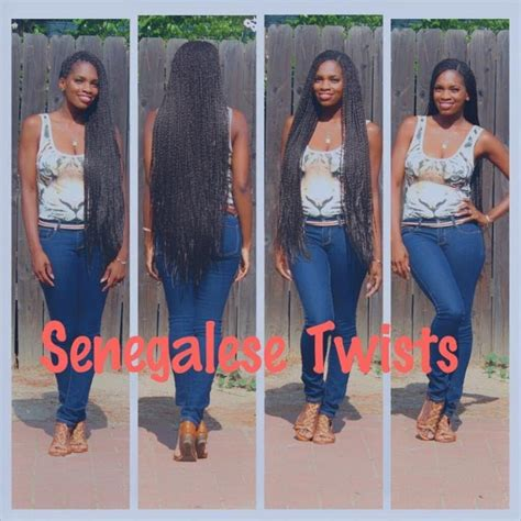 how long so you leave sengal twist in long senegalese twists chocolatetresss youtube