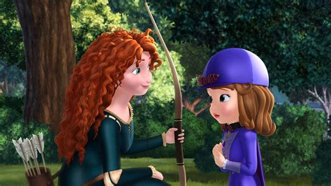 monster worldwide inc brave s merida to make an appearance on sofia the first