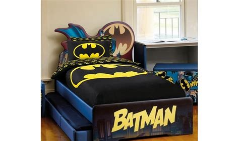 batman bedroom set batman bedding superhero themed bedding for boys