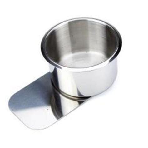 Cup Holder Table by Slide Stainless Steel Table Cup Holder