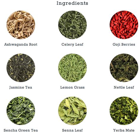 Detox Tea Igredeients by Teatox Reviews Lose Weight Tips