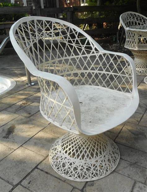 fiberglass outdoor furniture unique mid century modern woodard spun fiberglass patio set for sale at 1stdibs
