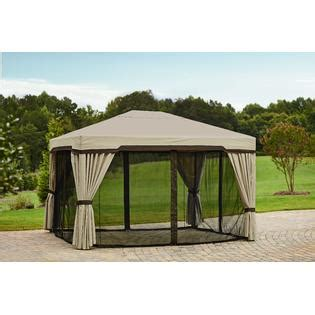 Garden Oasis Replacement Net For Privacy Gazebo Outdoor Garden Oasis Pergola Replacement Canopy