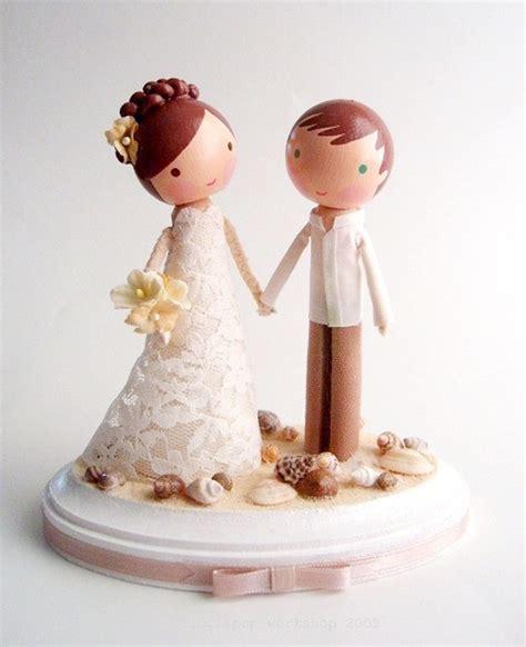 beach wedding cake toppers 2015 romantic and unique