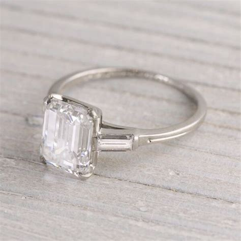 vintage engagement ring simple but weddings