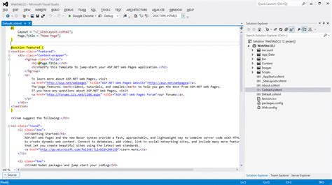 tfs tutorial visual studio 2012 visual studio 2012 web publish settings