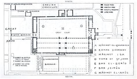 Foursquare Floor Plans by Umayyad Mosque Mit Libraries
