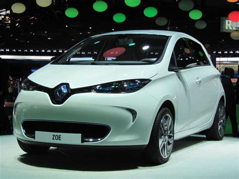 renault zoe electric 2013 renault zoe electric car paris auto show live photos