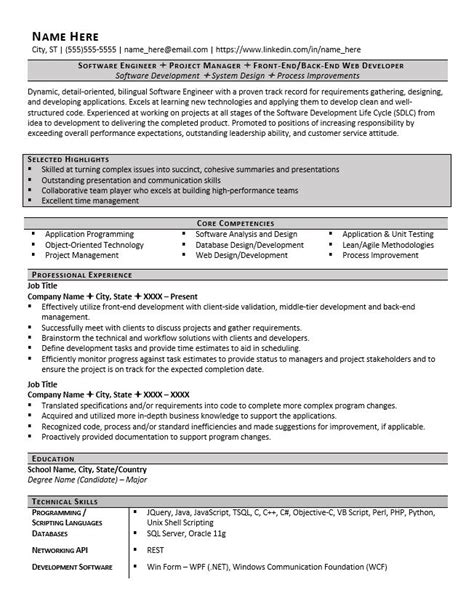 resume header sles 7 resume headers and sections you need exles included