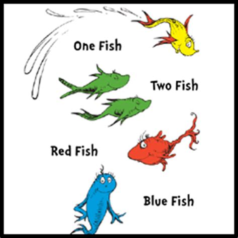 One Fish Two Fish Fish Blue Fish Coloring Pages mrs p s ed tech talk dr seuss in the computer lab