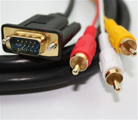Diskon Kabel Vga 3 Meter Monitor To Konektor jual kabel hdmi to vga dan audio 2 meter klikglodok