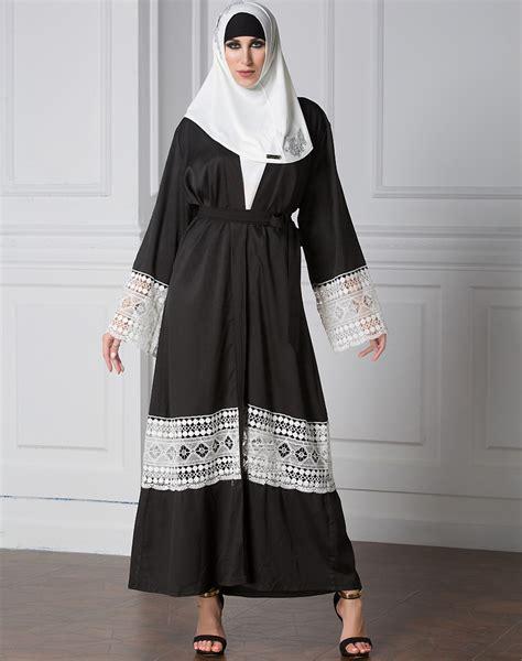 Gamis Abaya Vahira Maxi Belt dubia style muslim open cardigan abaya jilbab islamic maxi dress belt ebay