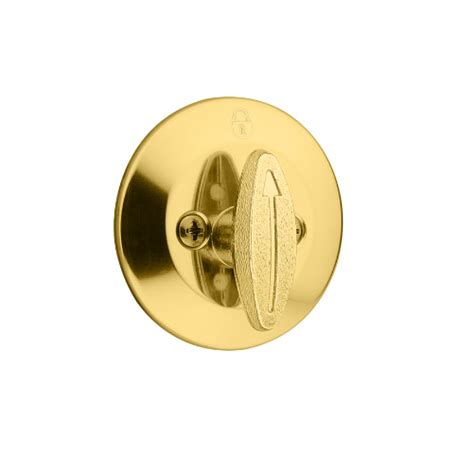 One Sided Door Knob by Kwikset 663 One Sided Deadbolt Low Price Door Knobs