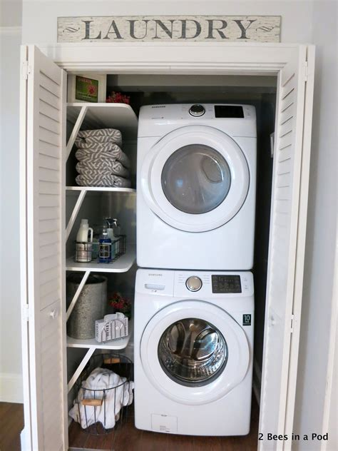 laundry room solutions small laundry room solutions 2 bees in a pod