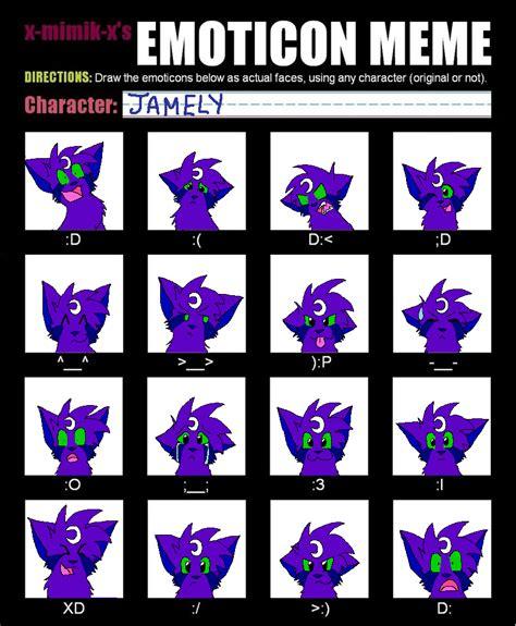 Emoticon Meme - emoticon meme by bluestarzstrike on deviantart