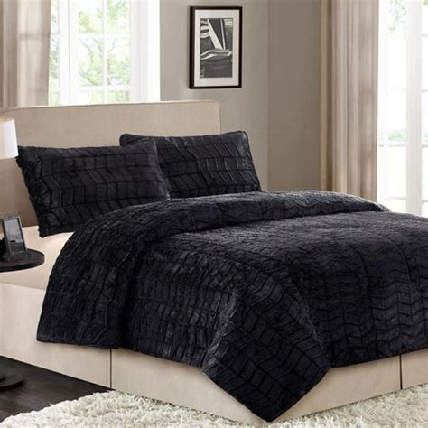 faux fur bedding set better homes and gardens faux fur bedding comforter set