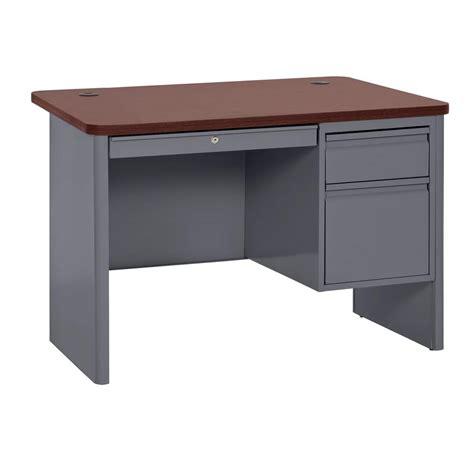 48 x 30 desk sandusky 30 in h x 48 in w x 30 in d 700 series single