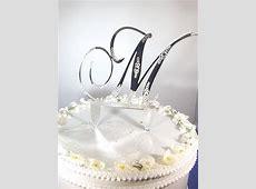 Jewelry by Rhonda - Wedding Jewelry, Bridesmaid's Jewelry ... M Monogram Wedding Cake Toppers