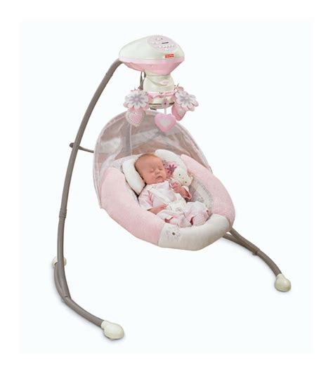 swing for baby girl fisher price my little sweetie cradle n swing