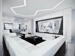 White Interior Design Ideas by Black And White Contemporary Interior Design Ideas For
