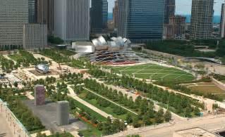 Landscape Architect Chicago Millennium Park In Chicago