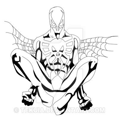 Spider 2099 Coloring Pages spider 2099 by tekuia on deviantart