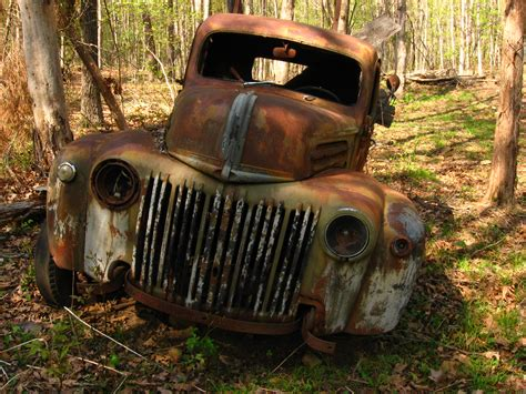 rusty pickup rusty truck poetry of the water witch s daughter