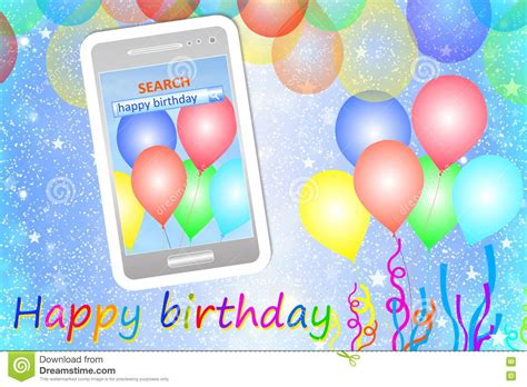 Cell Phone Text Birthday Cards