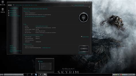 ps4 themes ign skyrim cold steel clash of the titans 6 windows 7 theme