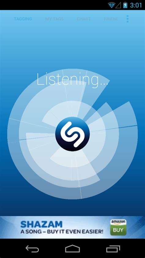 shazam app android shazam gets updated to version 4 0 with a brand new look android community