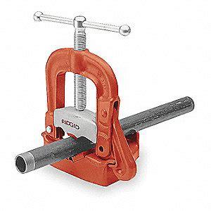 bench yoke vise ridgid bench yoke vise 1 8 to 2 in 1ed98 40080 grainger