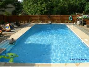 Backyard Inground Swimming Pools Inground Pool Rectangle 16x32 Pool Area Backyard Swimming Pools And Yards