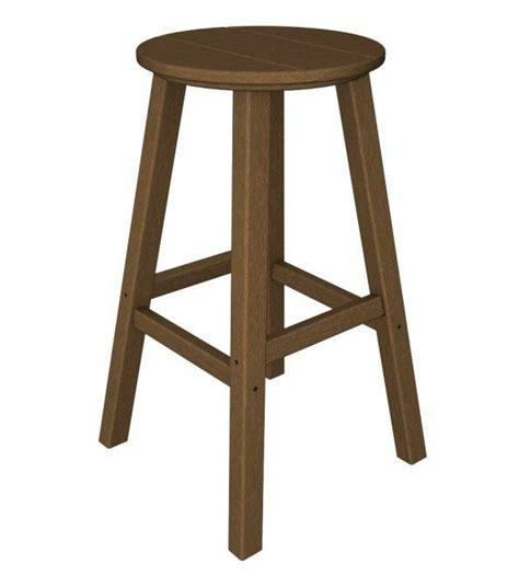 bar stools traditional traditional bar height stool recycled outdoor furniture