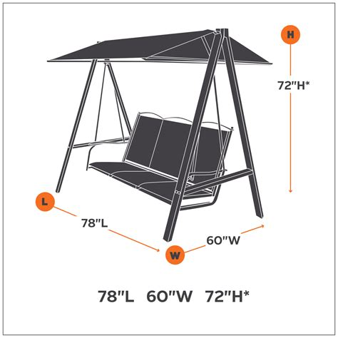 classic accessories ravenna canopy swing cover