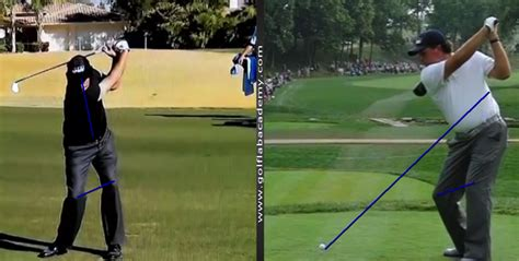 mickelson golf swing video phil mickelson swing analysis californiagolf