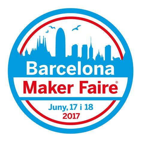 logo badge maker maker faire barcelona 2017 tinkerman