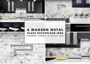 modern espresso kitchen cabinet with white glass metal backsplash from ideas pinterest tile