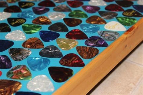 liquid glass for table top diy liquid glass epoxy guitar table top how to