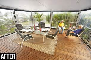 outside blinds for deck how to install bistro blinds australian handyman magazine