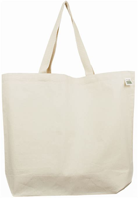 eco bag ecobags canvas tote bag recycled cotton mid weight
