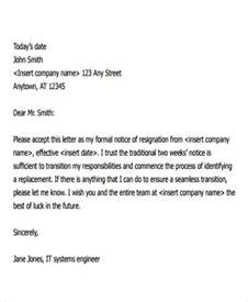 Resignation Letter Format Software Engineer 27 Resignation Letter Format Free Premium Templates