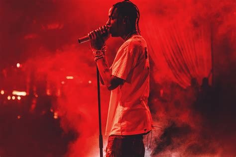 travis scott interview on performing fashion and fans