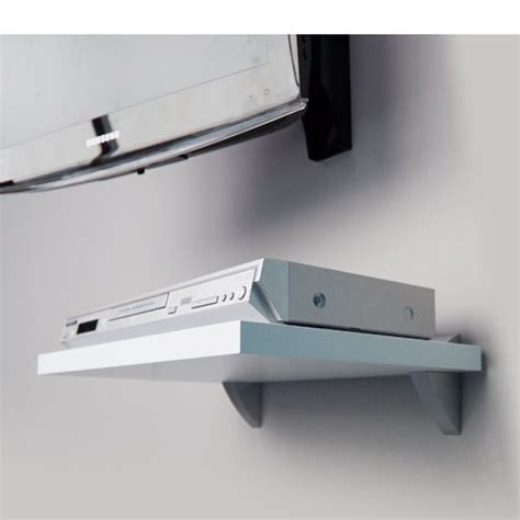 Media Shelfs by White Media Shelf Slot 450x300x25mm Mastershelf