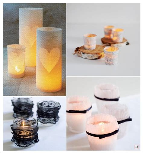 idees photophore bougie decoration table