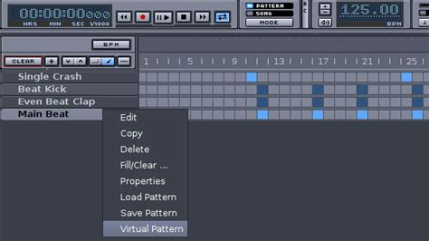 hydrogen drum pattern library best free beat making software for windows