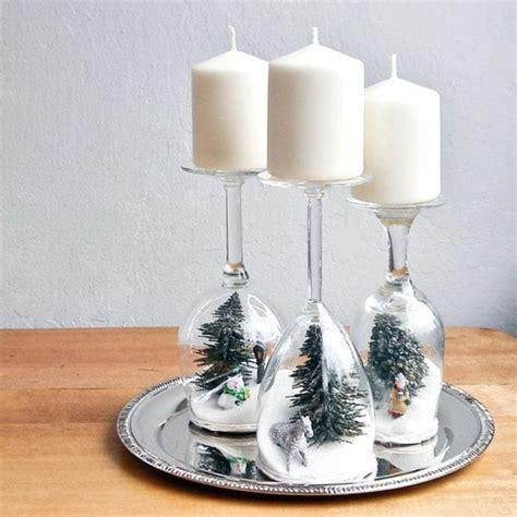 Kerzenhalter Dekorieren by Weihnachtsdekoration Basteln Mit Kerzen Und Gl 228 Sern