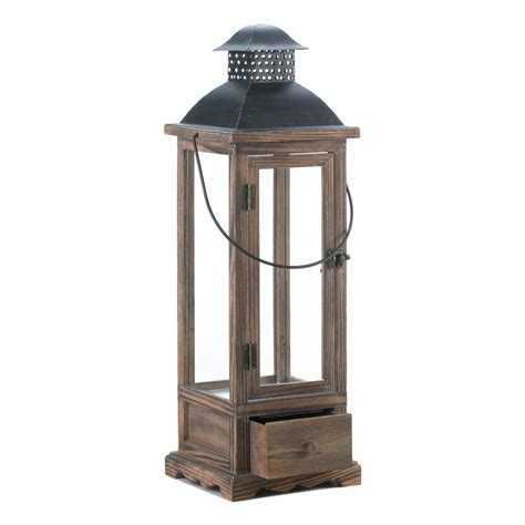 wholesale large wooden lantern with drawer buy wholesale