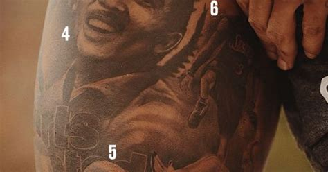 odell beckham jrs incredible tattoo features malcolm